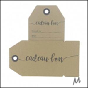 Label kadobon