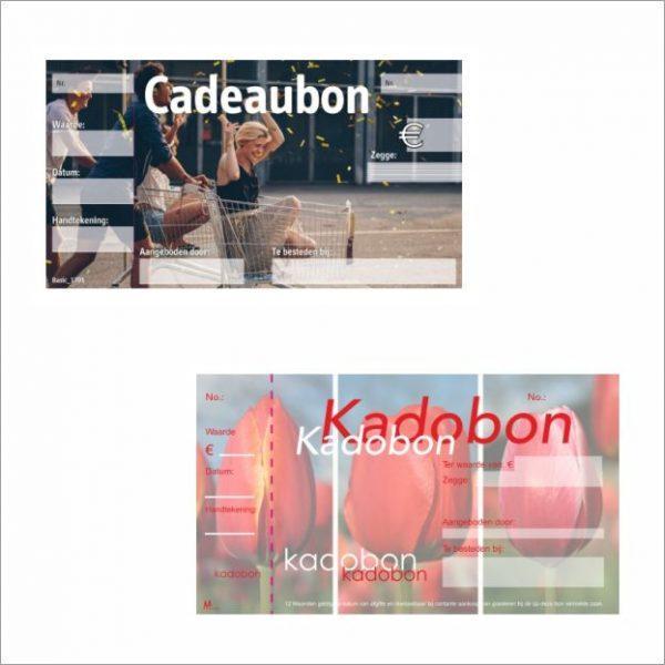 Kadobon - opruiming